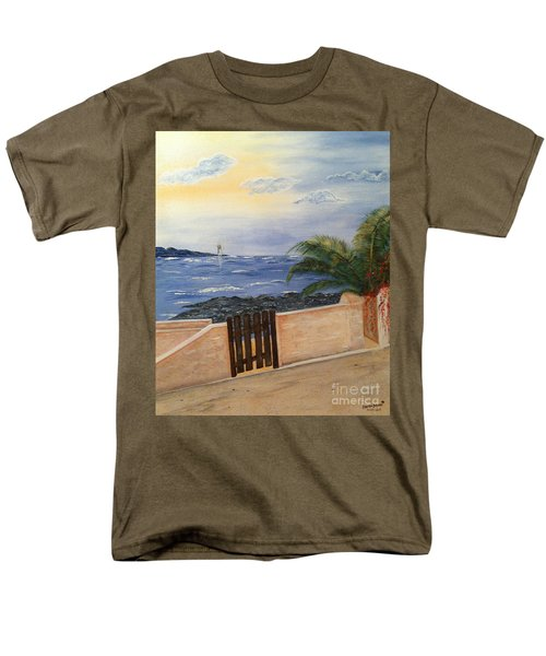 Mediterranean Bbmb0001 Men's T-Shirt  (Regular Fit) by Brenda Brown