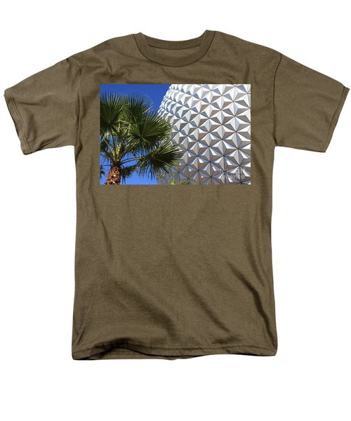 Men's T-Shirt  (Regular Fit) featuring the photograph Metal Earth by Chris Thomas