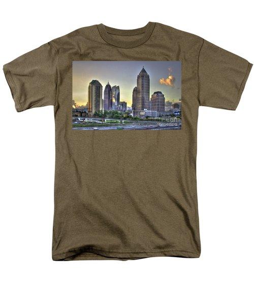 Midtown Atlanta Sunrise Men's T-Shirt  (Regular Fit) by Reid Callaway