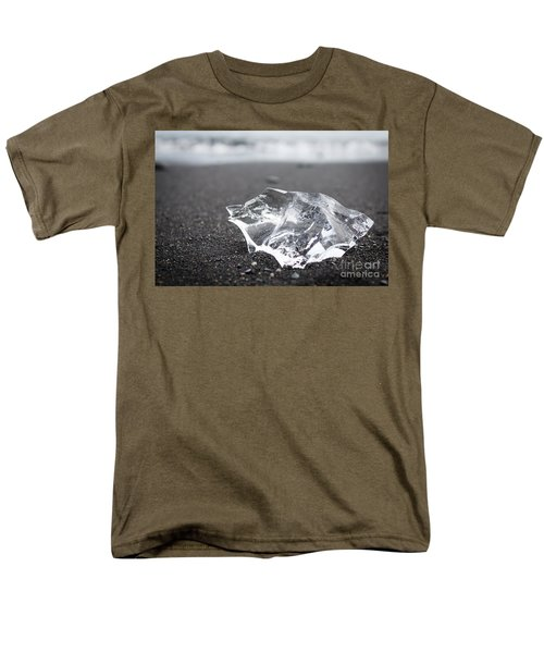 Men's T-Shirt  (Regular Fit) featuring the photograph Millennium Ice by Peta Thames