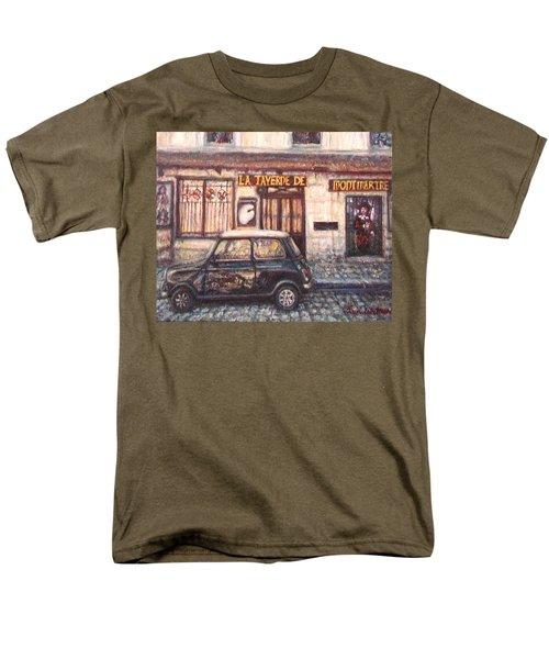 Mini De Montmartre Men's T-Shirt  (Regular Fit) by Quin Sweetman