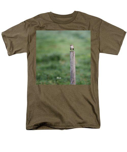 Minimalism Mockingbird Men's T-Shirt  (Regular Fit) by Bill Wakeley