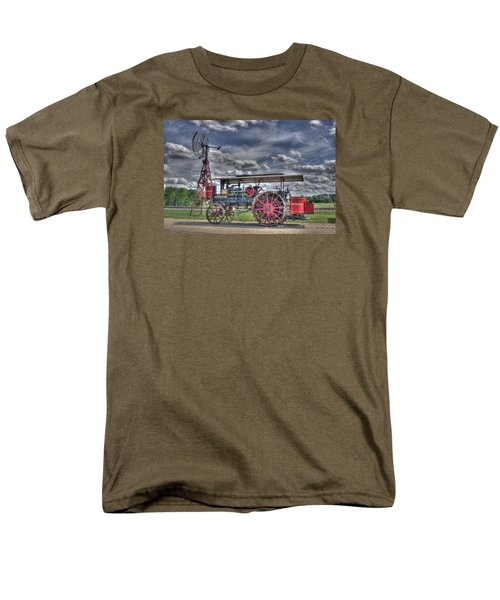 Minneapolis At The Windmill Men's T-Shirt  (Regular Fit) by Shelly Gunderson