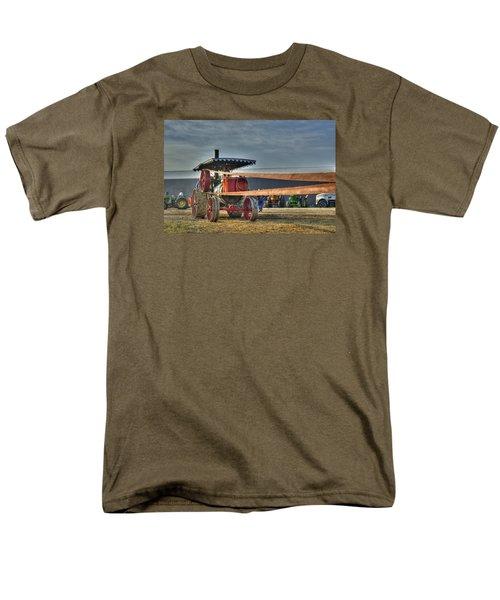 Minneapolis Return Flue Threshing Men's T-Shirt  (Regular Fit) by Shelly Gunderson