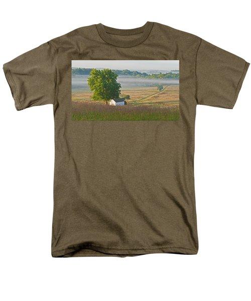 Misty Morning Men's T-Shirt  (Regular Fit) by Michael Porchik