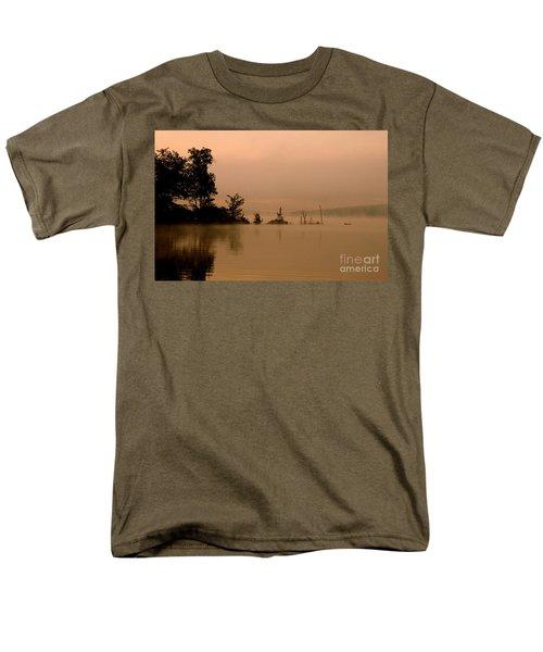 Misty Morning Solitude  Men's T-Shirt  (Regular Fit)