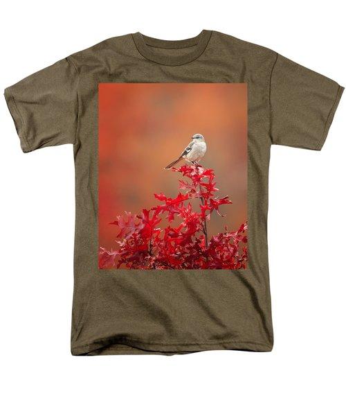 Mockingbird Autumn Men's T-Shirt  (Regular Fit) by Bill Wakeley
