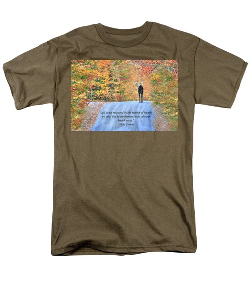 Moments That Take Our Breath Away Men's T-Shirt  (Regular Fit) by Shelley Neff