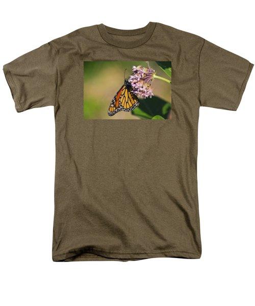 Monarch On Milkweed Men's T-Shirt  (Regular Fit) by Shelly Gunderson