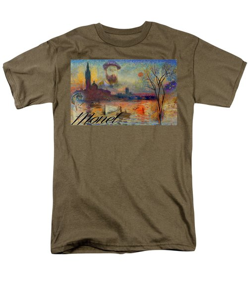 Monet-esque Men's T-Shirt  (Regular Fit)