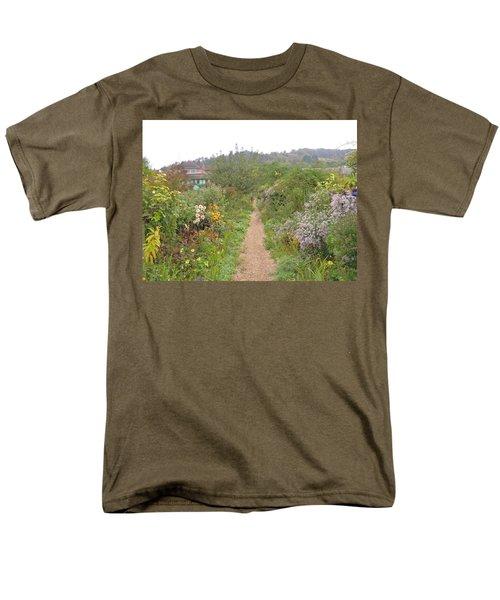 Monet's Garden 5 Men's T-Shirt  (Regular Fit) by Ellen Meakin