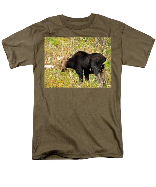 Men's T-Shirt  (Regular Fit) featuring the photograph Moose by James Peterson