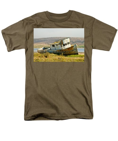 Morning At The Pt Reyes Men's T-Shirt  (Regular Fit) by Bill Gallagher