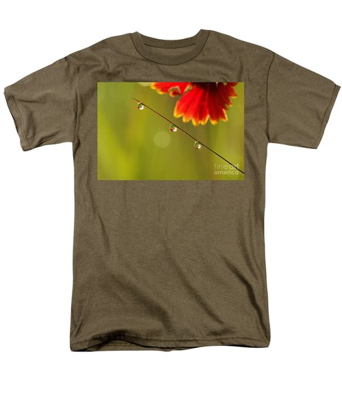 Men's T-Shirt  (Regular Fit) featuring the photograph Morning Dew by Patrick Shupert
