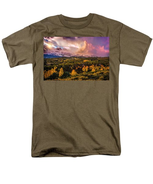 Men's T-Shirt  (Regular Fit) featuring the photograph Morning Glory by Ken Smith