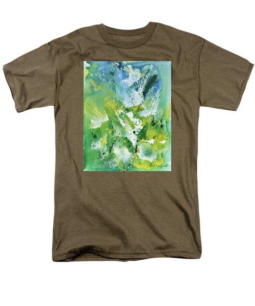 Morning Hillside Men's T-Shirt  (Regular Fit) by Craig T Burgwardt