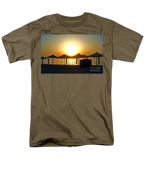 Morning In Greece Men's T-Shirt  (Regular Fit) by Nina Ficur Feenan