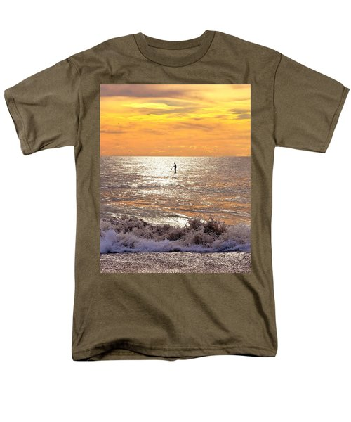 Sunrise Solitude Men's T-Shirt  (Regular Fit)
