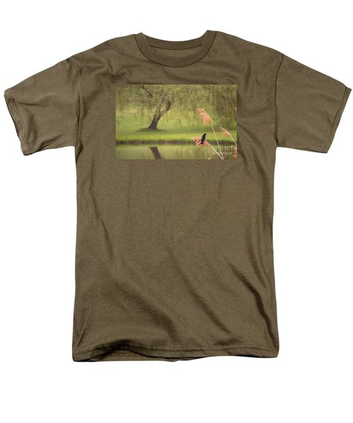 Men's T-Shirt  (Regular Fit) featuring the photograph Morning Mood by Rima Biswas