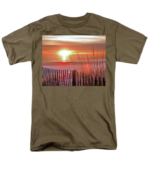 Morning Sandfire Men's T-Shirt  (Regular Fit)