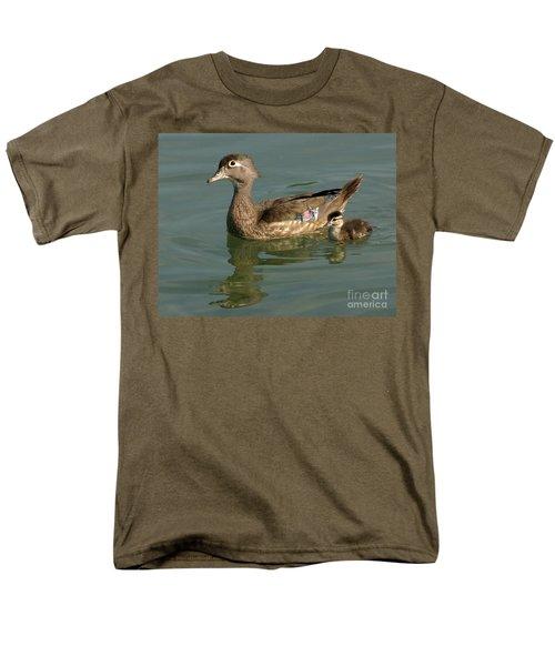 Mother And Child Men's T-Shirt  (Regular Fit) by Liz Masoner