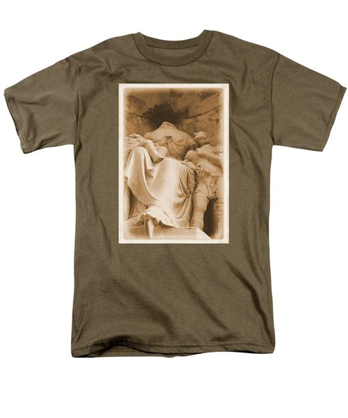 Men's T-Shirt  (Regular Fit) featuring the photograph Mother With Children by Nadalyn Larsen