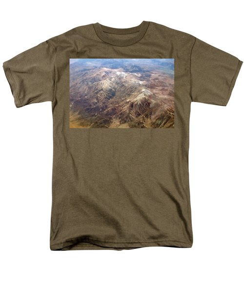 Men's T-Shirt  (Regular Fit) featuring the photograph Mountain View by Mark Greenberg