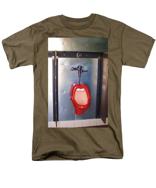 Mouth Urinal Two Men's T-Shirt  (Regular Fit) by Cathy Anderson