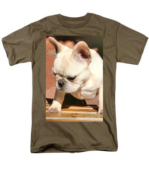 French Bulldog Ms Quiggly  Men's T-Shirt  (Regular Fit)