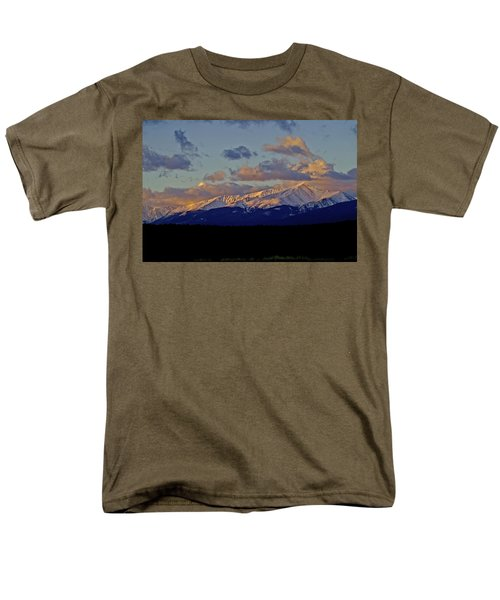 Mt Elbert Sunrise Men's T-Shirt  (Regular Fit) by Jeremy Rhoades