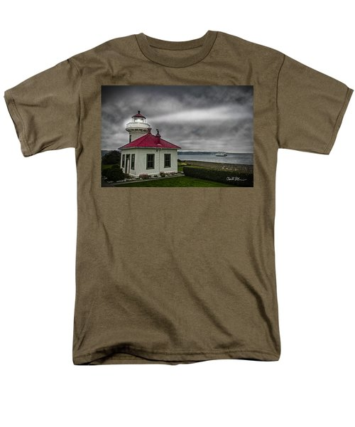 Mukilteo Lighthouse Men's T-Shirt  (Regular Fit)
