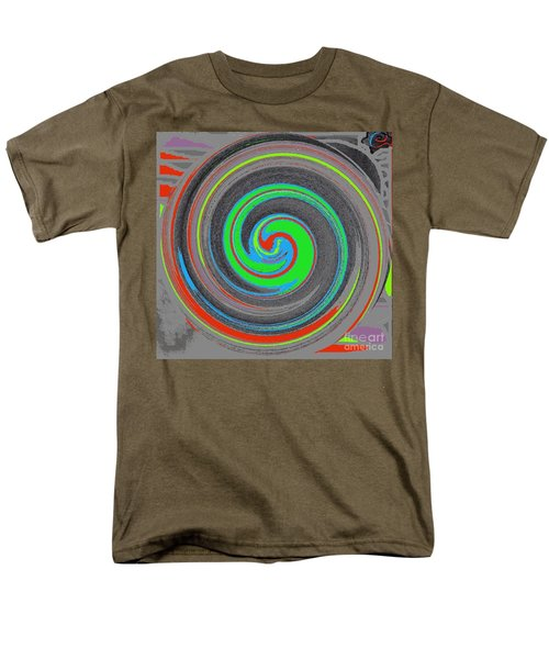 Men's T-Shirt  (Regular Fit) featuring the digital art My Hurricane by Catherine Lott