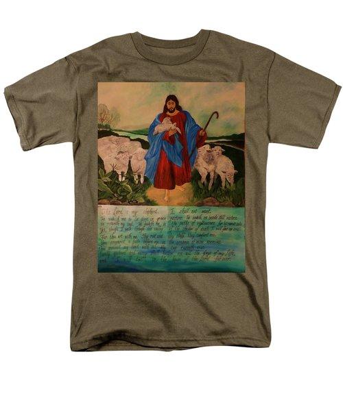 My Shepherd Men's T-Shirt  (Regular Fit) by Christy Saunders Church