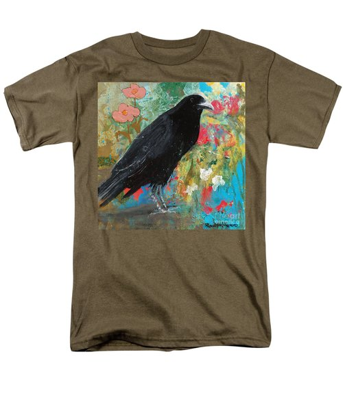 Men's T-Shirt  (Regular Fit) featuring the painting Mystery At Every Turn by Robin Maria Pedrero