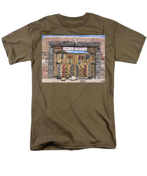 Men's T-Shirt  (Regular Fit) featuring the photograph Native American Trading Post by Dora Sofia Caputo Photographic Art and Design