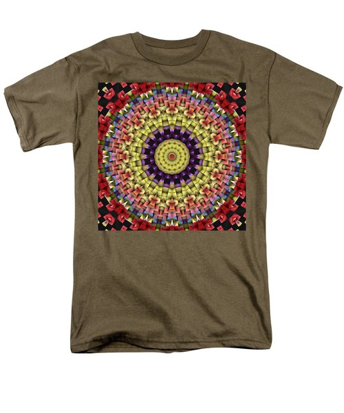 Natural Attributes 09 Square Men's T-Shirt  (Regular Fit) by Wendy J St Christopher
