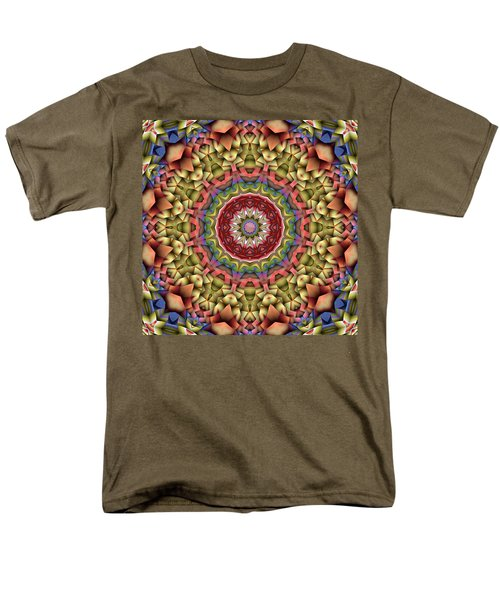 Natural Attributes 10 Square Men's T-Shirt  (Regular Fit) by Wendy J St Christopher