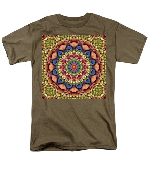 Natural Attributes 12 Square Men's T-Shirt  (Regular Fit) by Wendy J St Christopher