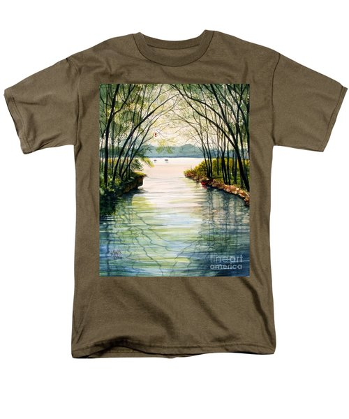 Nature's Cathedral Men's T-Shirt  (Regular Fit) by Marilyn Smith