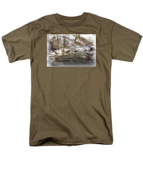 Men's T-Shirt  (Regular Fit) featuring the photograph Nature's Direction by Janie Johnson