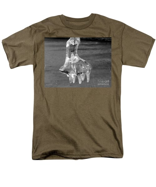 Men's T-Shirt  (Regular Fit) featuring the photograph Nature's Ornament by Nina Silver
