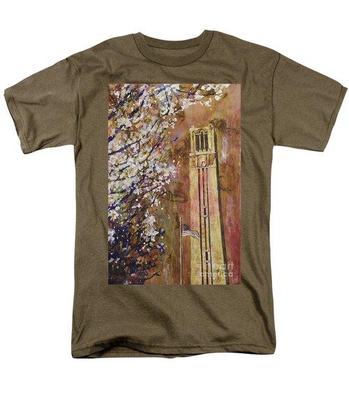Ncsu Bell Tower Men's T-Shirt  (Regular Fit)