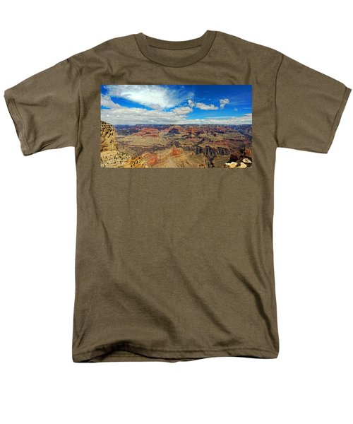 Near Perfect Day Men's T-Shirt  (Regular Fit) by Dave Files