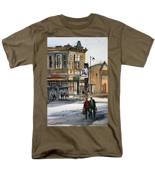 Neshkoro Tavern Men's T-Shirt  (Regular Fit) by Ryan Radke