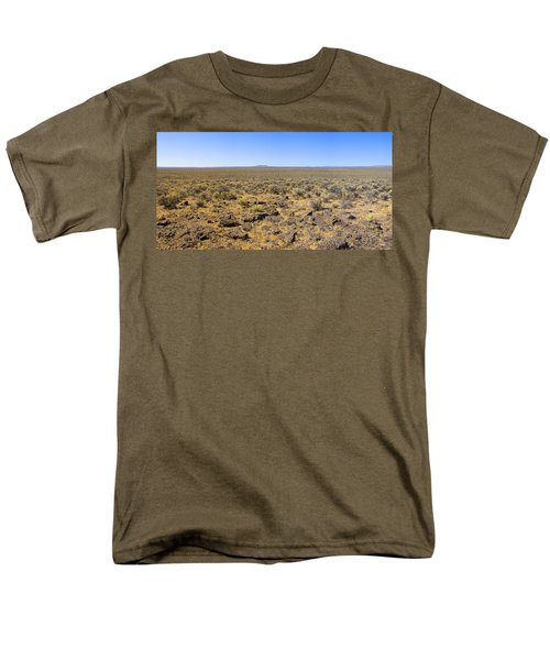Men's T-Shirt  (Regular Fit) featuring the photograph Nevada Desert Panorama by Mark Greenberg