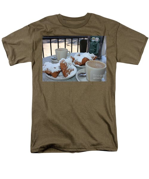 New Orleans Breakfast Men's T-Shirt  (Regular Fit)
