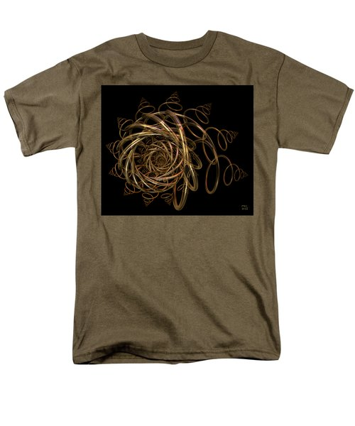 Men's T-Shirt  (Regular Fit) featuring the digital art Nightfall by Manny Lorenzo