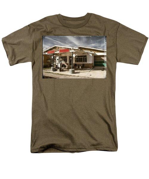 Men's T-Shirt  (Regular Fit) featuring the photograph No Gas by Steven Bateson