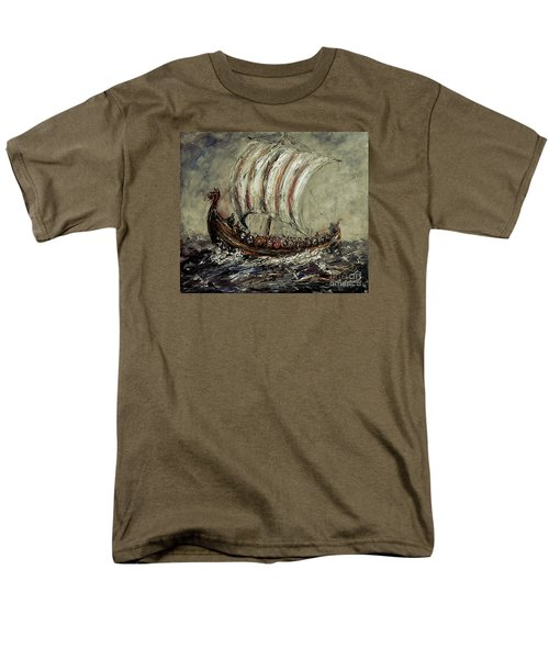 Norse Explorers Men's T-Shirt  (Regular Fit) by Arturas Slapsys