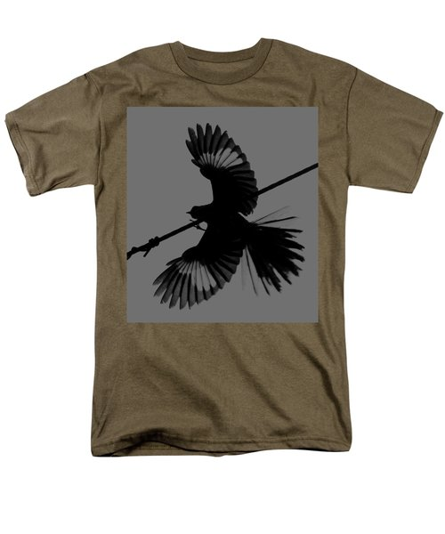 Men's T-Shirt  (Regular Fit) featuring the photograph Northern Mockingbird by Leticia Latocki